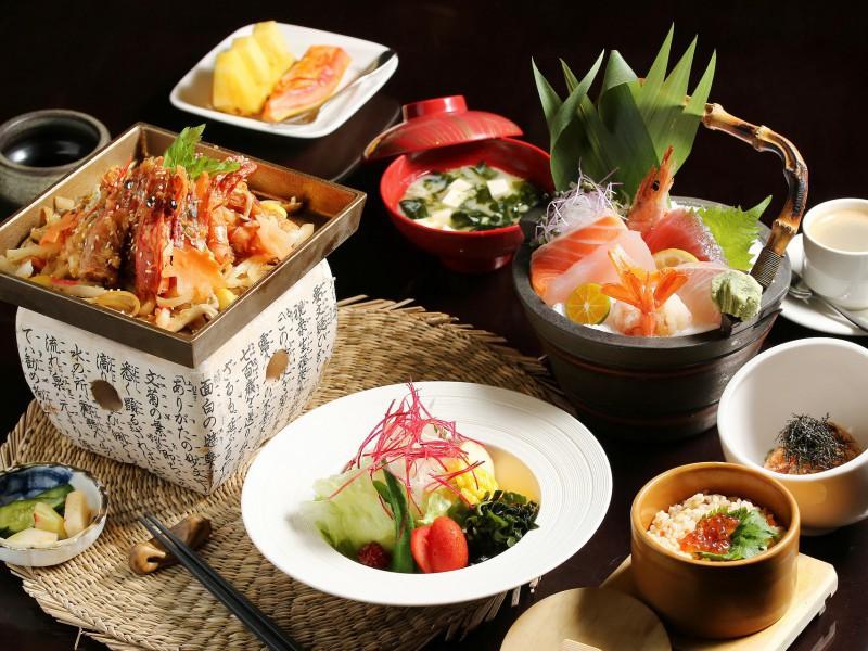 Пазл Собирать пазлы онлайн - Японский обед