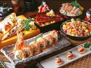 Собирать пазл Японский ресторан онлайн