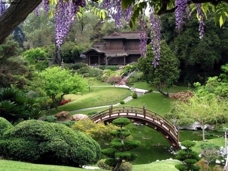 Пазл Собирать пазлы онлайн - Японский сад 2
