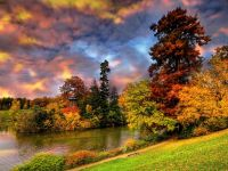 Собирать пазл Яркие краски природы онлайн