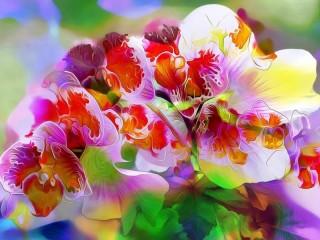 Собирать пазл Яркие краски онлайн