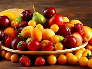 Собирать пазл Яркие плоды лета онлайн