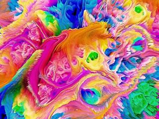 Собирать пазл Яркие цвета онлайн