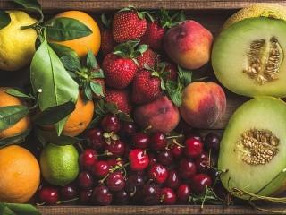 Собирать пазл Ящик фруктов онлайн