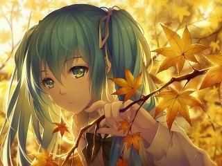 Собирать пазл Жёлтые листья онлайн