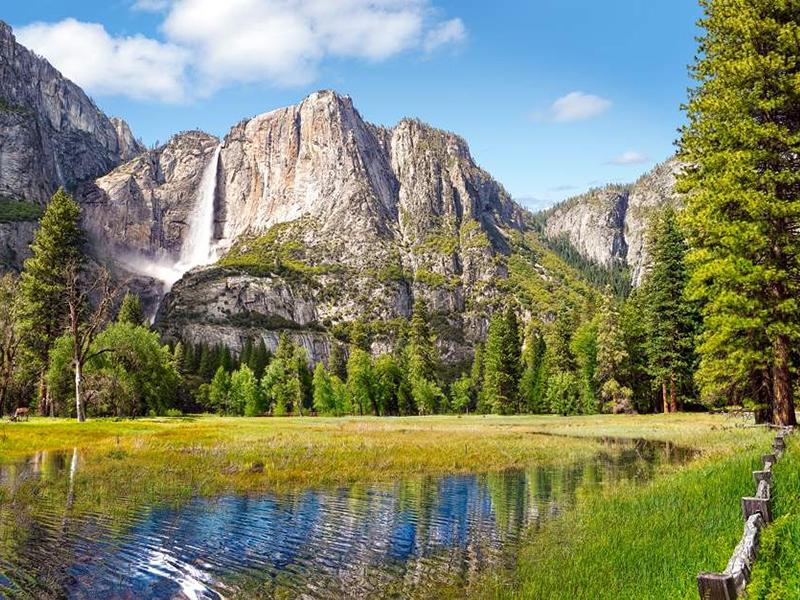 Пазл Собирать пазлы онлайн - Йосемити