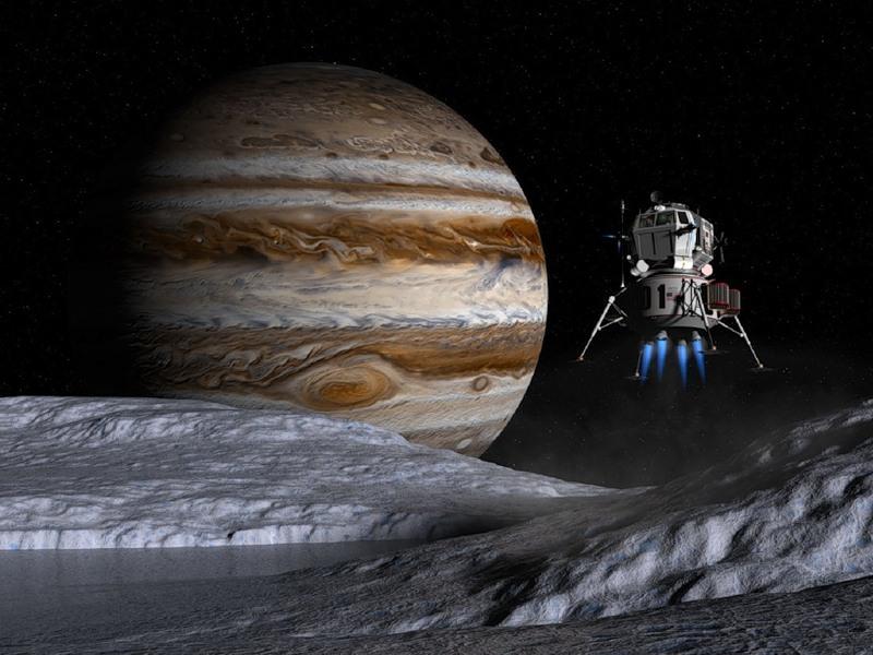 Пазл Собирать пазлы онлайн - Юпитер