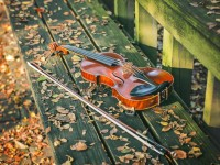 Собирать пазл Забытая скрипка онлайн