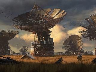 Собирать пазл Заброшенные радары онлайн