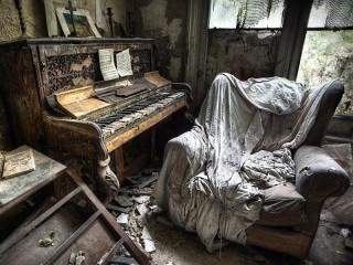 Собирать пазл Заброшенный дом онлайн