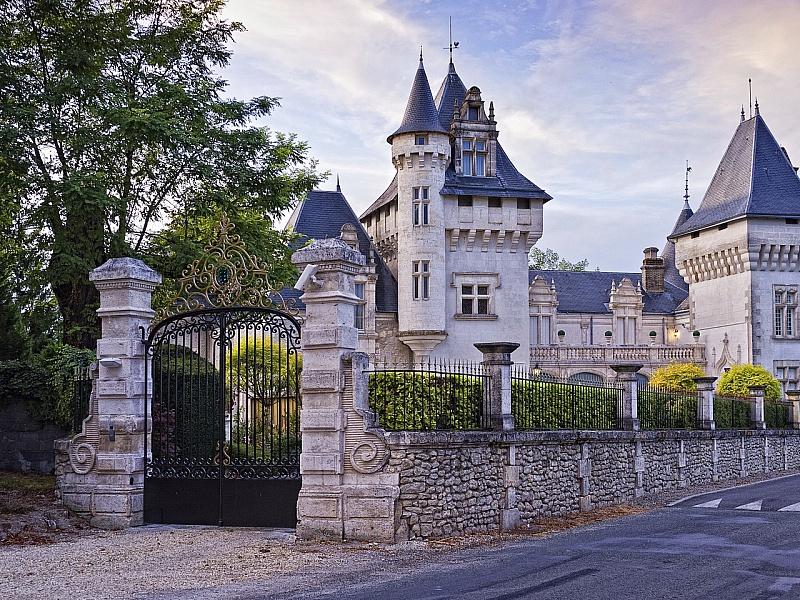 Пазл Собирать пазлы онлайн - Замок Шомон