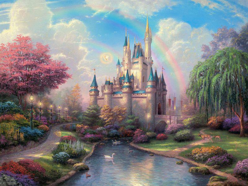 Пазл Собирать пазлы онлайн - Замок