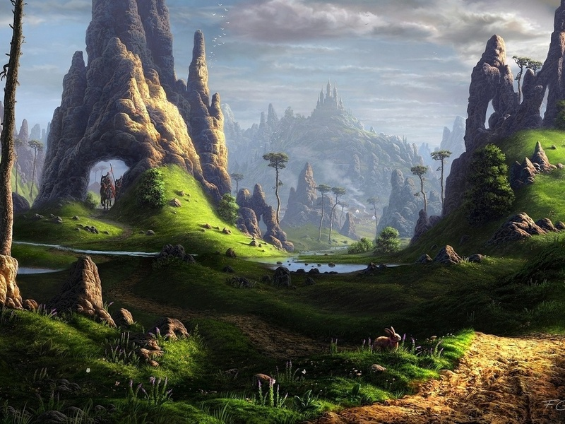 Пазл Собирать пазлы онлайн - Волшебный замок