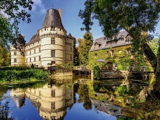 Собирать пазл Замок Де Лизетт онлайн
