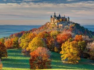 Собирать пазл Замок Гогенцоллерн онлайн