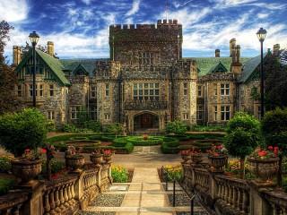 Собирать пазл Замок Крейгдаррох онлайн