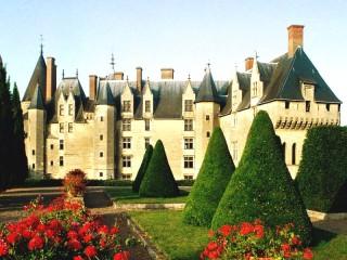 Собирать пазл Замок Ланже онлайн