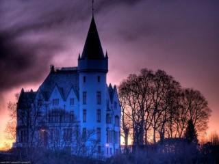 Собирать пазл Замок в Англии онлайн