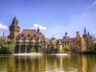 Собирать пазл Замок в Будапеште онлайн