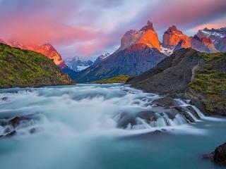 Собирать пазл Заповедник в Чили онлайн