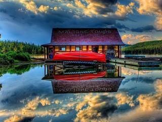 Собирать пазл Заповедник в Канаде онлайн