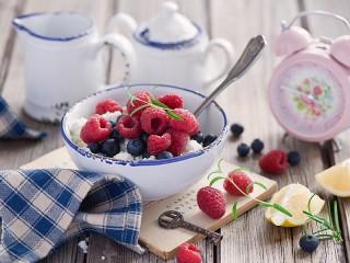 Собирать пазл Завтрак онлайн