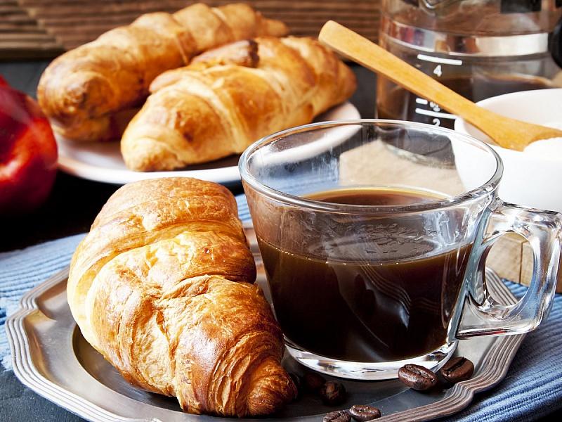 Пазл Собирать пазлы онлайн - Завтрак с кофе