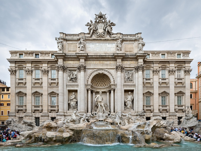 Пазл Собирать пазлы онлайн - Здание в Риме