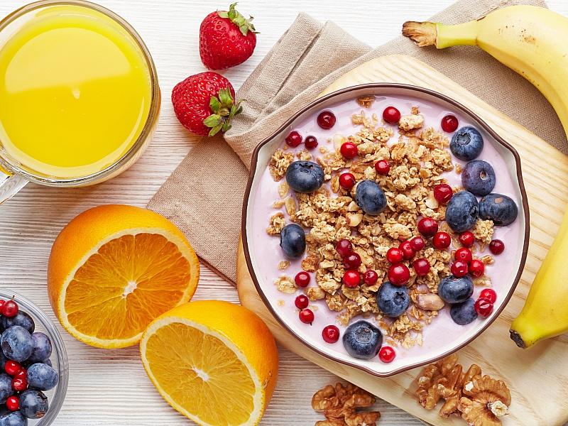 Пазл Собирать пазлы онлайн - Здоровый завтрак