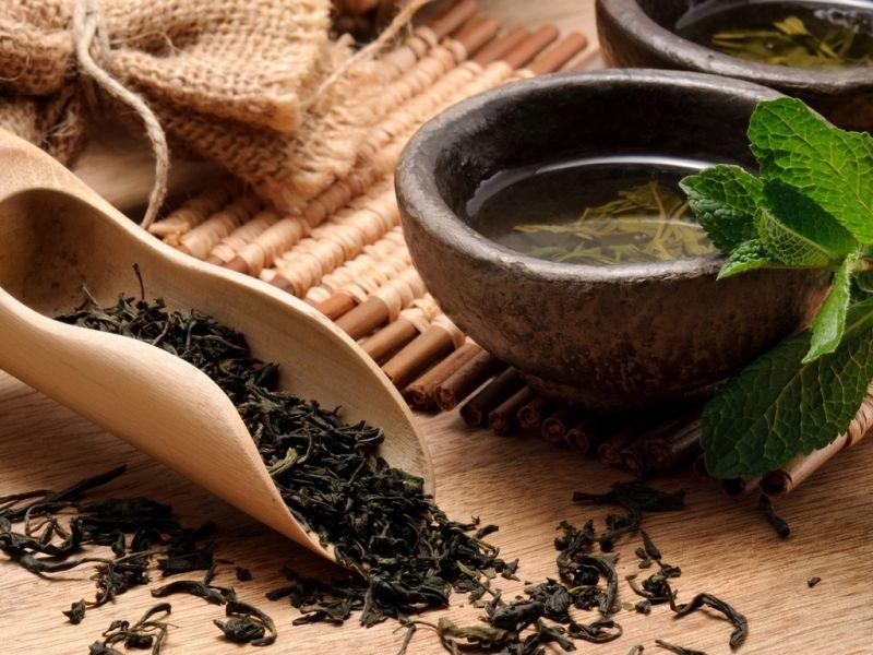 Пазл Собирать пазлы онлайн - Зеленый чай