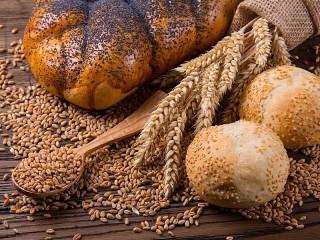 Собирать пазл Зерно и хлеб онлайн
