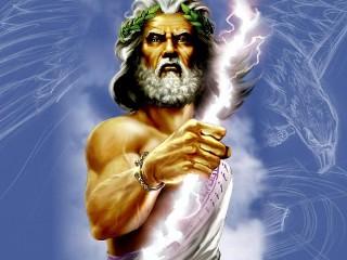Собирать пазл Зевс онлайн