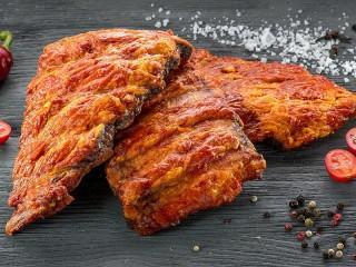 Собирать пазл Жареное мясо онлайн