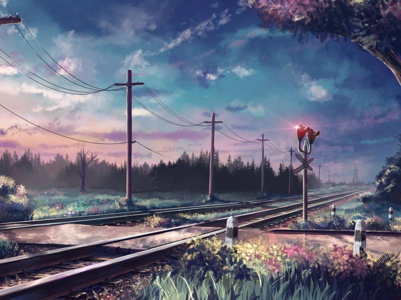 Пазл Собирать пазлы онлайн - Железная дорога