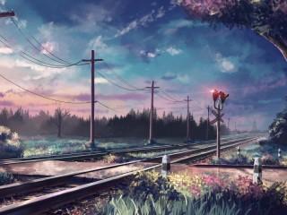 Собирать пазл Железная дорога онлайн