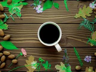 Собирать пазл Желудёвый кофе онлайн