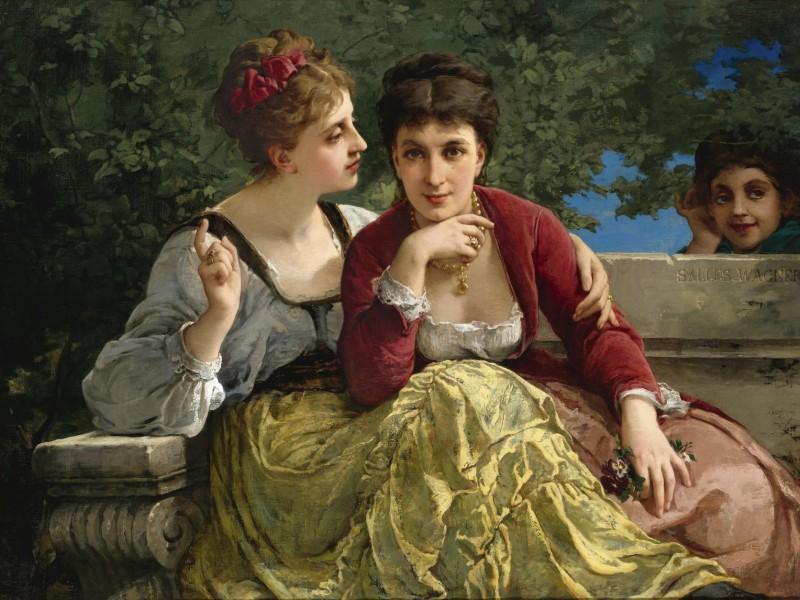 Пазл Собирать пазлы онлайн - Женские секреты