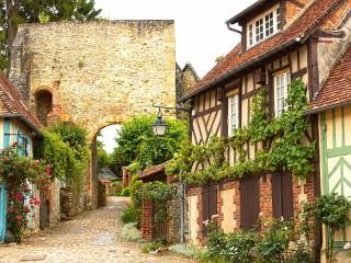 Собирать пазл Жерберуа Франция онлайн