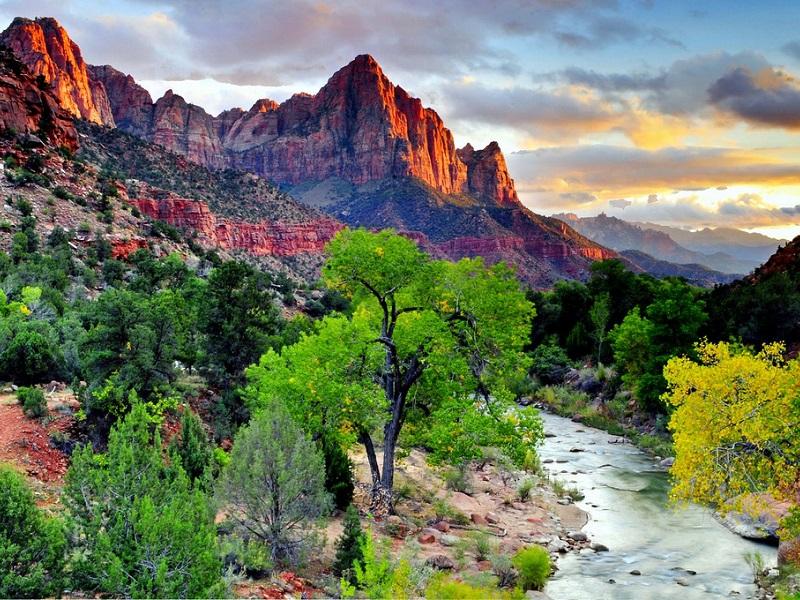 Пазл Собирать пазлы онлайн - Живописные горы