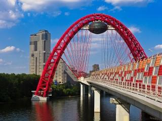 Собирать пазл Живописный мост онлайн