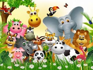 Собирать пазл Животные онлайн