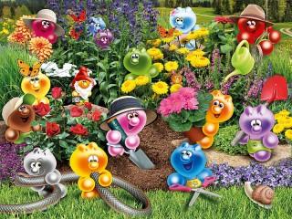Собирать пазл Жизнь Gelini - садоводы онлайн