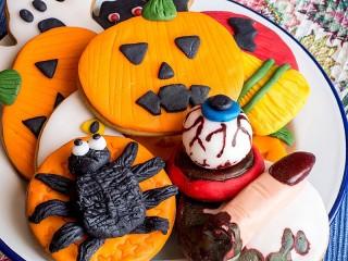 Собирать пазл Жуткое печенье онлайн