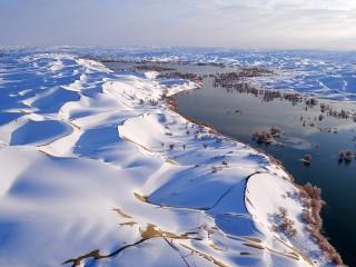Собирать пазл Зима в Китае онлайн