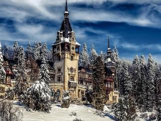 Собирать пазл Зима в Румынии онлайн