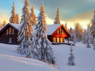 Собирать пазл Зимнее утро онлайн