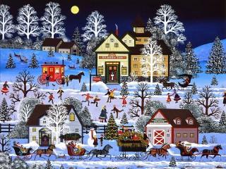 Собирать пазл Зимние игры онлайн