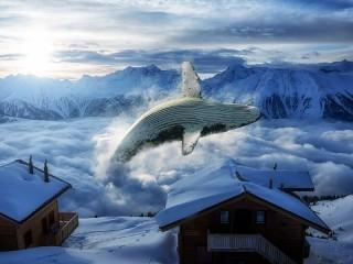 Собирать пазл Зимняя фантазия онлайн