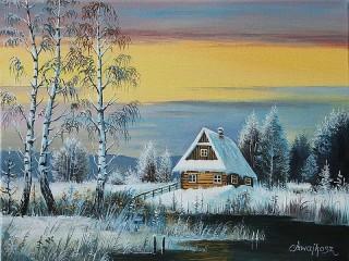 Собирать пазл Зимушка зима онлайн