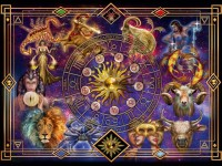 Собирать пазл Знаки Зодиака онлайн